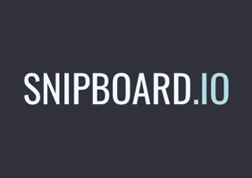 Quick sharing photo with snipboard.io